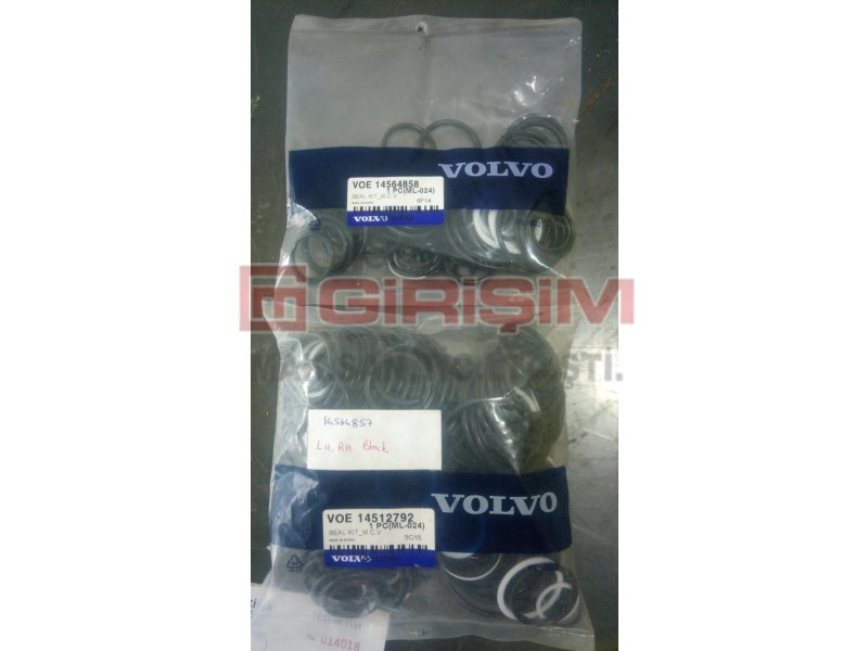 VOE14564858 14564858 EC460 main control valve(MCV) seal kit